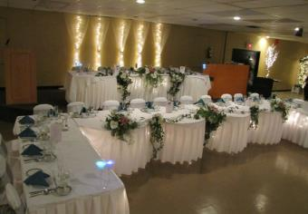 Allow us to provide our elegant decorating touch to your wedding!